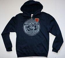 New Chicago Bears Sweatshirt Hoodie NFL Majestic Men's Size S Football