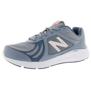 New Balance Womens 496 v3 Blue Running Shoes Sneakers 9 Wide (C,D,W) BHFO 0119