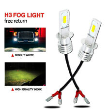 For Saab 9-3 2003-2007 Low High Fog Xenon Headlight Bulbs H7 H7 H3 Set