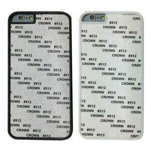 5 X Hard Plastic Blank Sublimation Case Cover for Various Phone Models