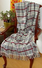 lana cuadros, colcha, cubierta SOFA 135x190 cm