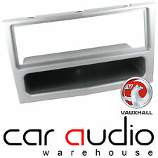Connects2 Vauxhall Astra 2004-2009 Car Single Din Fascia Facia Panel Silver