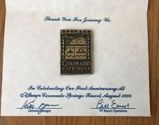 VINTAGE DISNEY WORLD CORONADO SPRINGS RESORT 1st anniversary Souvenir