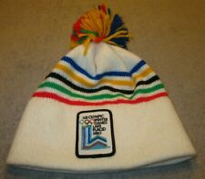 Vintage 1980 Lake Placid XIII Winter Olympic Games Ski Hat Beanie please read