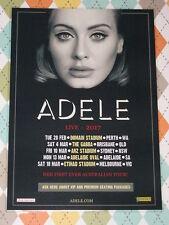 ADELE - 2017 Australian Laminated Tour Poster - PERFECT TO FRAME! - NEW