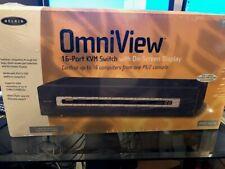 Belkin OmniView Pro2 (F1Da116T) 16-Ports External Kvm switch Ps/2 stackable
