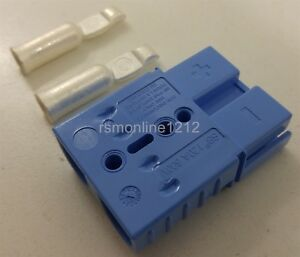 Metra Install Bay SB120 Anderson Large 4 Gauge Blue Bullet Connectors Each