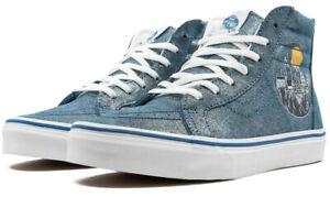Vans Kids X Harry Potter Hogwarts Metallic SK8-Hi Zip Shoes (Size 1.5 Kids)