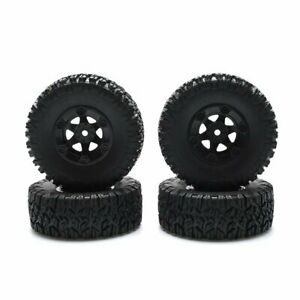 2/4PCS Plastic Wheel Rim Tires For  1/14  Wltoys 144001 Upgrade RC Car