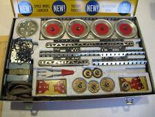 1960 A.C. Gilbert Erector Set in near mint condition. Rocket launcher set 10053
