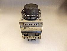 AGASTAT   7022AD     Time Delay Relay 120VAC 5 - 50 seconds  TE Connectivity