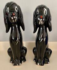 More details for retro hand finished sitting black dog ornaments