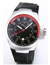 New Authentic Puma TOP GEAR Black Rubber  + Free Watch