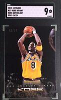 Kobe Bryant 2012-13 Panini Anthology Gold #27 16/24 SGC 9 Mint