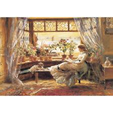 1000Piece Jigsaw Puzzle Reading by The Window PK1000-3163