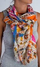 Tolani 15104 Garden Fuschia Scarf Cotton/Modal/Flex/Silk