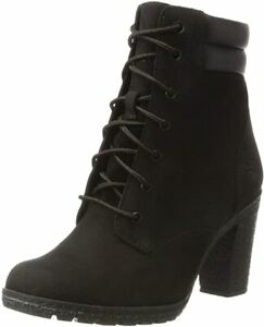 Timberland Tillston 6 Inch Black Boots Women Size 10 New