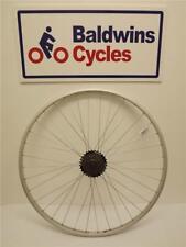 700c POSTERIORE Narrow RIM ibrido / strada Bicicletta Ruota-Q / R + 6 Velocità Shimano FREEWHEEL