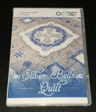 NEW 2019 Silver Bells Quilt Machine Embroidery Designs from OESD Still in Wrap