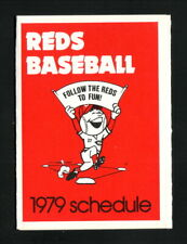 Cincinnati Reds--1979 Pocket Schedule--Marathon
