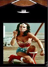 Wonder Woman T Shirt; Lynda Carter Wonder Woman Tee Shirt