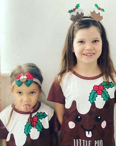 Christmas Pudding Baby Headbands Berry Glitter Newborn Baby Girls Bows Pop up