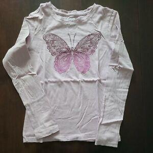 Gap Kids Girls Butterfly T Shirt  M 7/8