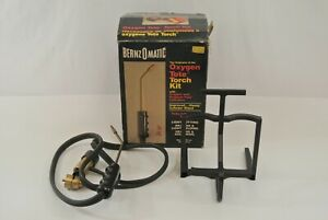 Bernzomatic Oxygen Tote Torch Kit OX-2500 Wand, Valves & Stand Only No Cylinders
