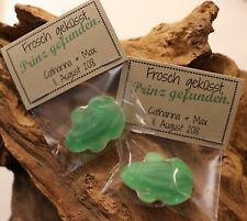 Gastgeschenke Fruchtgummi Hochzeit Give away Frosch geküsst, Prinz...