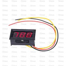 10PCS NEW Red LED Panel Meter Mini Digital Voltmeter DC 0V To 99.9V