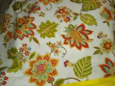 Waverly Home Decor 100% cotton fabric  FLORAL BTHY X 45