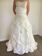 Wedding Dress - Elizza-beth, Style Charlotte,Size 8-10, Ivory