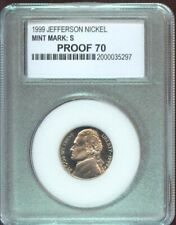 1999-S JEFFERSON NICKEL  GEM PROOF    SLABBED  (707)
