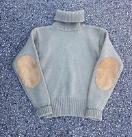 Vintage 80s 100% Wool Polo Ralph Lauren Turtleneck Sweater Size Medium