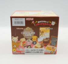 Re-ment Rilakkuma Chocolate Cafe 6 pcs Full Complete set