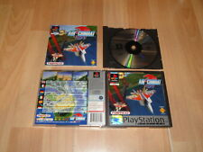 AIR COMBAT 1 ACE COMBAT DE NAMCO PARA LA SONY PLAY STATION 1 PS1 USADO COMPLETO