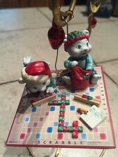 Enesco Christmas Ornament: 25 Points For Christmas: Scrabble Board Game!