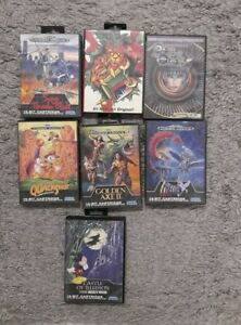 Sega Mega Drive Spiele Sammlung 7 Spiele