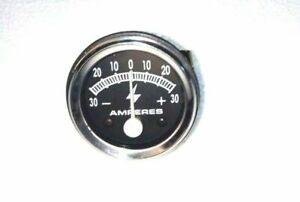30 Amp Tractor, Equipment Ammeter Gauge Massey Ford Allis IH John Deere Farmall