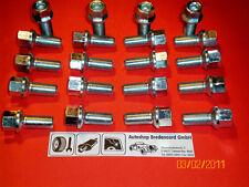 20 Radschrauben für  Stahl-  und  Alufelgen  Audi  A1  A3  A4  A5  A6  A7  TT