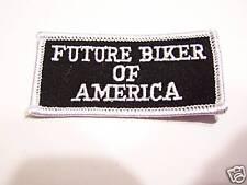 #0089 Motorcycle Vest Patch FUTURE BIKER OF AMERICA