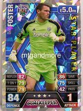 Match Attax 2013/14 Premier League - #325 Ben Foster - Star Player