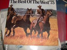 BEST OF WEST 1975 PUBBLICITA' MARLBORO