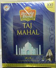 Brooke Bond TAJ MAHAL 100 Tea Bags Box Finest Tea USA SELLER FAST SHIPPING
