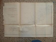 1875 ANTIQUE MAP GEORGIA NORTH SOUTH CAROLINA Superb NR