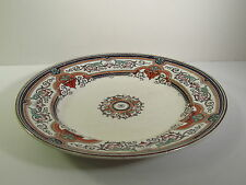 "EARLY 1800s IMPRESSED ""WEDGWOOD PEARL"" PEARLWARE DINNER PLATE- ARABESQUE PATTERN"