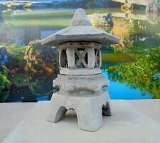 japanische Steinlaterne-Yukimi KL-Gartendekoration Steinguß Frostsicher Koiteich