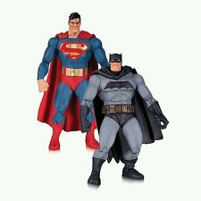 DC COMICS BUIO Knight restituisce SUPERMAN & BATMAN 30° anniv. ACTION FIGURES