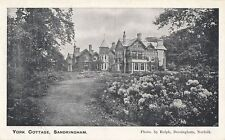 SANDRINGHAM( Norfolk): York Cottage -RALPH
