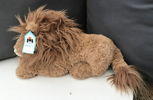 Jellycat Trafalgar Square London Lion National Gallery Very Rare Special Edition